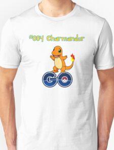 004 Charmander GO! Unisex T-Shirt