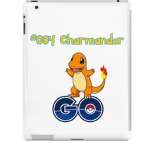 004 Charmander GO! iPad Case/Skin