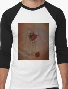 Strawberry Still Life II Men's Baseball ¾ T-Shirt