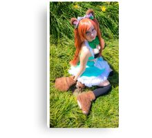 Some furry :) Canvas Print