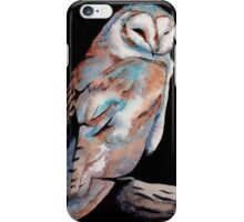Watercolor and Ink Owl iPhone Case/Skin