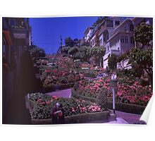 69' Lombard Street Poster