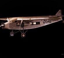 1933 Ford Tri-Motor Cargo Plane by DaveKoontz