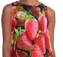 Strawberry Contrast Tank
