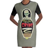 Pale ale from the crypt Graphic T-Shirt Dress