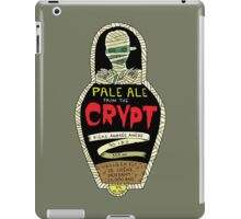 Pale ale from the crypt iPad Case/Skin