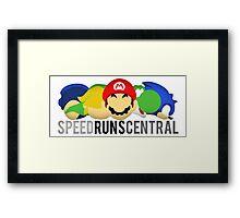 SpeedRunsCentral Official! Framed Print