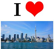 I LOVE TORONTO by d3boy2002