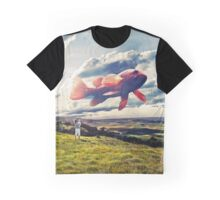 Flying Fish Graphic T-Shirt
