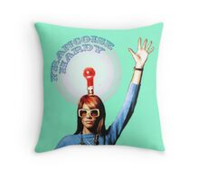 Francoise Hardy exclusive design! Throw Pillow
