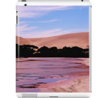 The Pink Lake and Sand Dunes at Port Le Hunt iPad Case/Skin