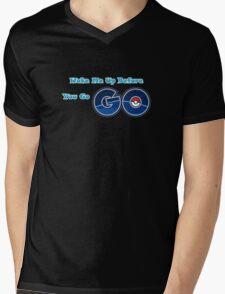 Pokemon go Go Mens V-Neck T-Shirt