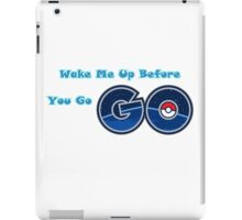 Pokemon go Go iPad Case/Skin