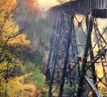 Upper Peninsula Train Trestle by Phil Perkins