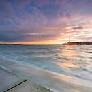 Margate sunset by Ian Hufton