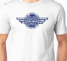 737-400 Aircrew Unisex T-Shirt