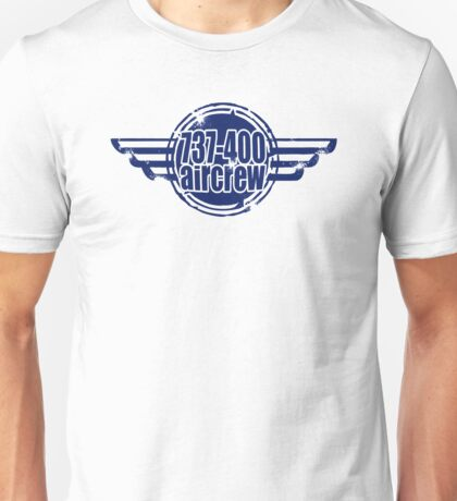737-400 Aircrew Unisex T-Shirt