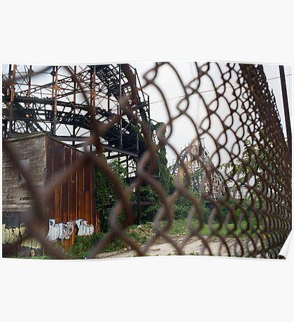 RIP Thunderbolt Coney Island NYC Poster