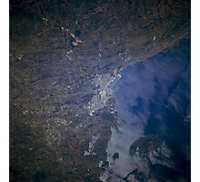 Thunder Bay, Ontario, Canada from Space Photographic Print