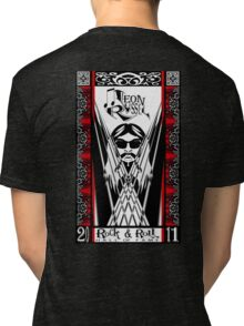 Leon Russell, Rock & Roll Hall of Fame, Commemorative Art by artist L. R. Emerson II Tri-blend T-Shirt
