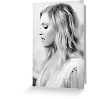 Eliza Taylor - Comic Con - The 100 Poster Greeting Card
