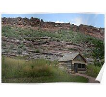 Cabin on bobcat ridge Poster