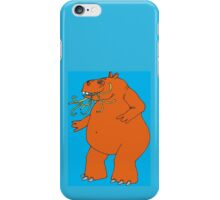 Hungry Hippo Need Udon Noodles Osaka Style iPhone Case/Skin