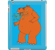 Hungry Hippo Need Udon Noodles Osaka Style iPad Case/Skin