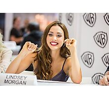 Lindsey Morgan - Comic Con - The 100 Poster Photographic Print