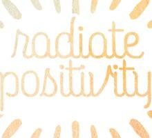 Radite Positivity Sticker