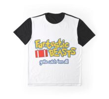 Fantastic Beasts - gotta catch 'em all Graphic T-Shirt