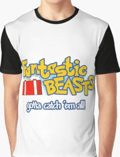 Fantastic Beasts - gotta catch 'em all Graphic T-Shirt