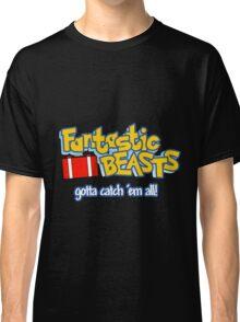 Fantastic Beasts - gotta catch 'em all Classic T-Shirt