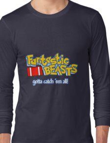Fantastic Beasts - gotta catch 'em all Long Sleeve T-Shirt