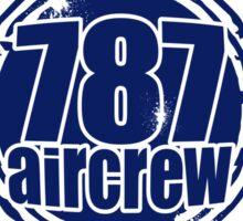 787 Aircrew Sticker