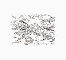 The Pangolin Family: The Royal Rollers Unisex T-Shirt