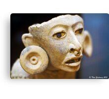 Mayan figure Canvas Print