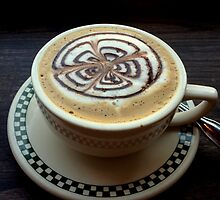 Cup of Cappuccino by heartprint
