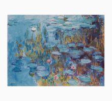 Claude Monet,Nympheas,beautiful,vintage,painting One Piece - Short Sleeve