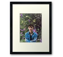 Blue Neighborhood Framed Print
