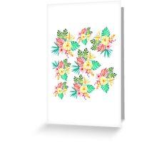 Flowers Everywhere Greeting Card