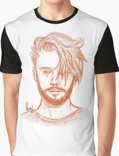 Justin Bieber Fan Art Graphic T-Shirt