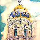 Metropolis building . Madrid. by terezadelpilar ~ art & architecture