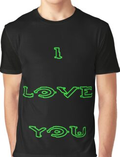 I Love You - HALO Graphic T-Shirt