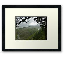 ice age forces Framed Print