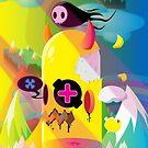 Bone Reaper Poster by swiftyspade