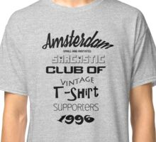 Vintage t-shirt supporters Classic T-Shirt