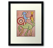 Centaur America Framed Print