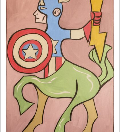 Centaur America Sticker