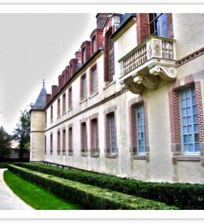 Chateau de Fontainebleau Sticker